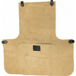"24"" Suede Leather Apron With Pocket - CONAP1"