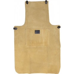 "36"" Suede Leather Apron With Pocket - CONAP2"