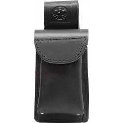 Black Leather Mobile Smart Phone Holder - C-SB-MPH-B