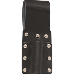 Black Leather Single Spanner Frog - C-SB-SC4-B