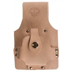 Tan Leather Tape Holder - C-SB-TA2