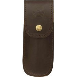 Small Premium Brown Leather Block Plane Wallet - C-BPWSML-BR