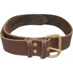 "Premium Brown 2"" Leather Belt - C-SB-LB2-BR"